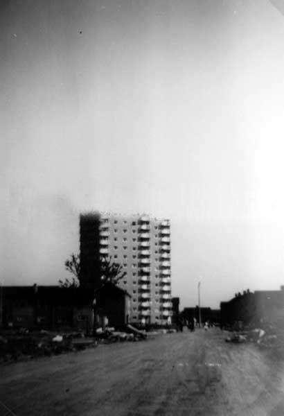 High Rise construction 1963