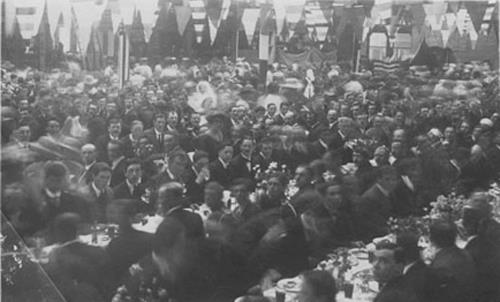 civic-reception-in-old-market-hall-for-soldiers-1919