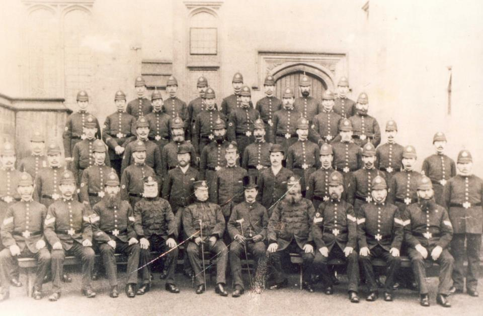 Chester Police 1880s