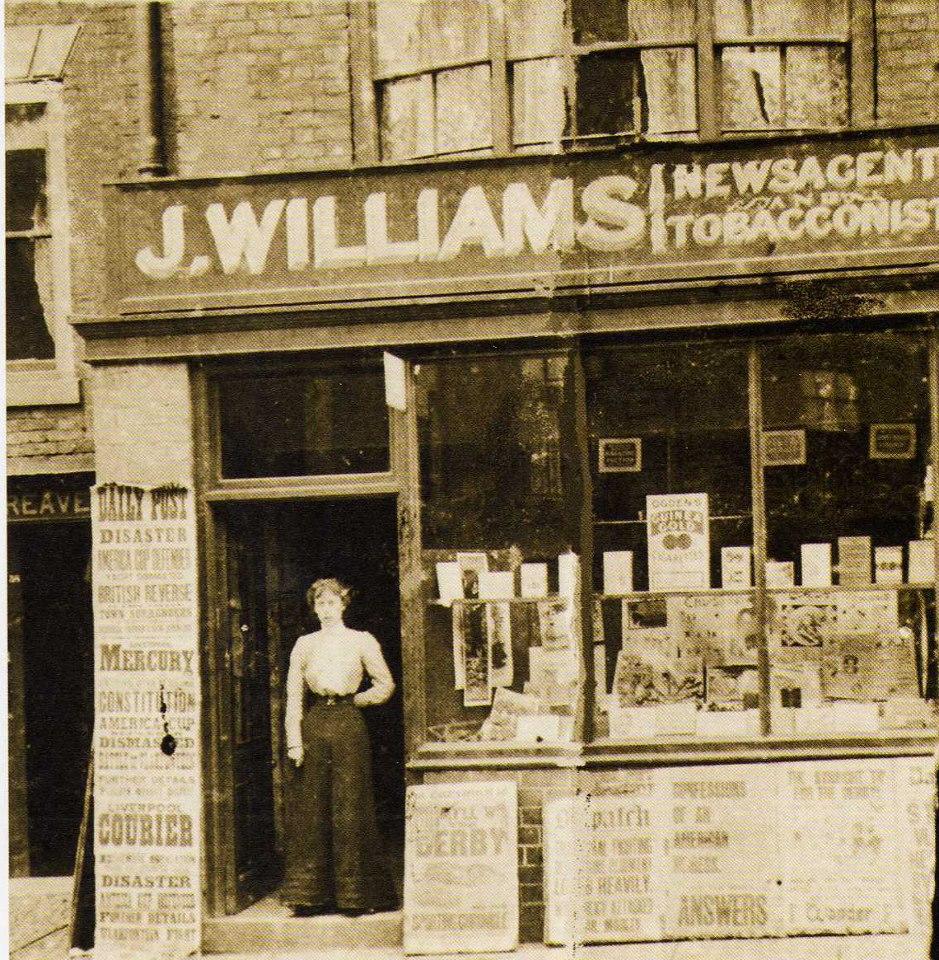 Lower Bridge Street 1901