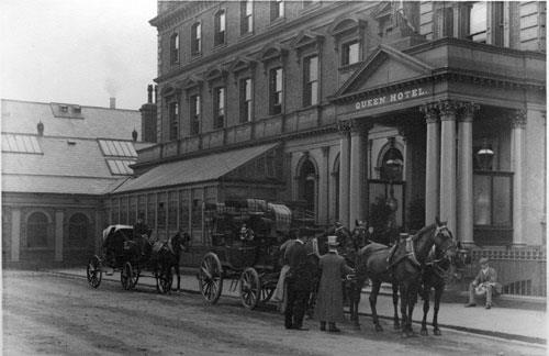 queen hotel c1890
