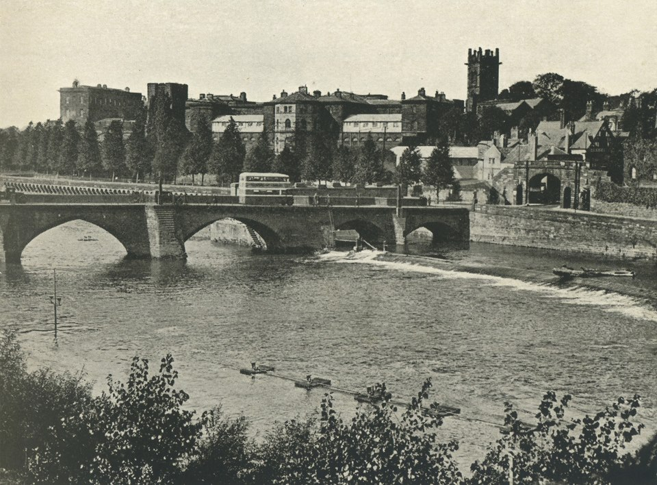 Handbridge and River
