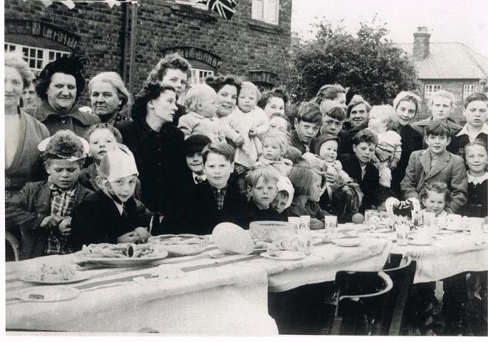 Handbridge Stree Party 1952