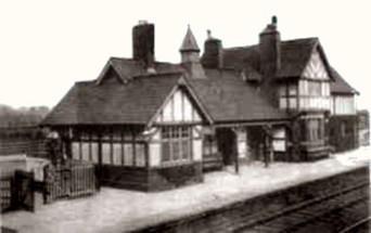 Saughall Railway Station